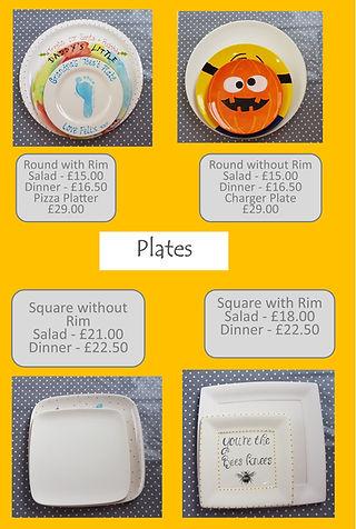 Plates - Round & Square - Salad Plate Di