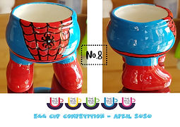 Number 8 - Egg Cup Competition - The Mug