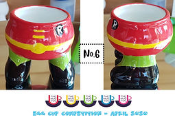 Number 6 - Egg Cup Competition - The Mug