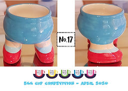 Number 17 - Egg Cup Competition - The Mu