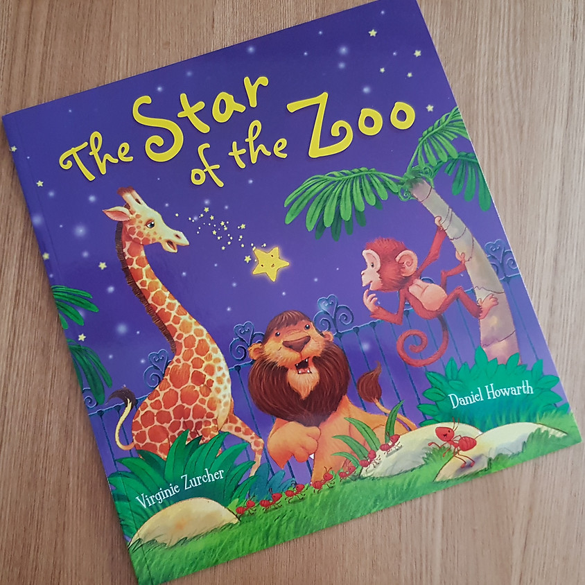 Tots, Pots & Tales - The Star of The Zoo - PM Session