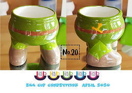 Number 20 - Egg Cup Competition - The Mu