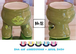 Number 18 - Egg Cup Competition - The Mu