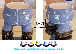 Number 21 - Egg Cup Competition - The Mu
