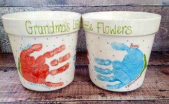 Grandmas Little Flowers - Large and Medi
