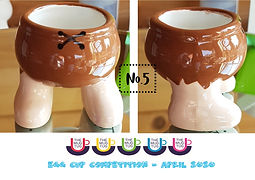 Number 5 - Egg Cup Competition - The Mug