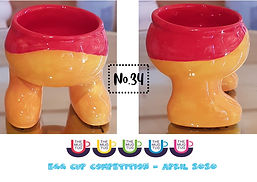 Number 34 - Egg Cup Competition - The Mu