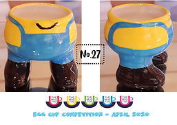 Number 27 - Egg Cup Competition - The Mu