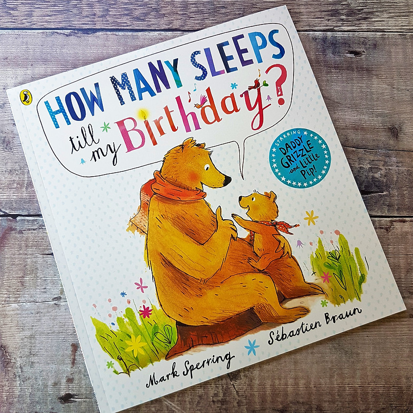 Tots, Pots & Tales - How Many Sleeps To My Birthday - PM Session