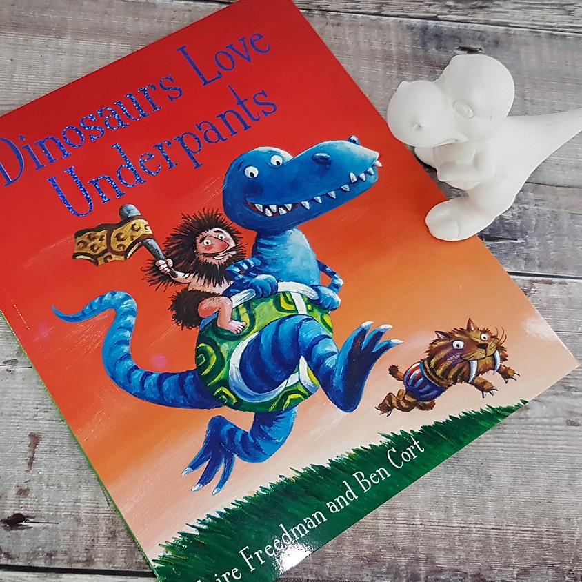 Tots, Pots & Tales - Dinosaurs Love Underpants - AM Session