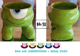 Number 38 - Egg Cup Competition - The Mu