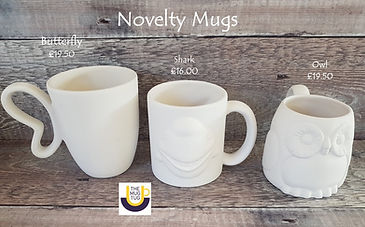 Takeaway Pottery - Novelty Mugs - Butter