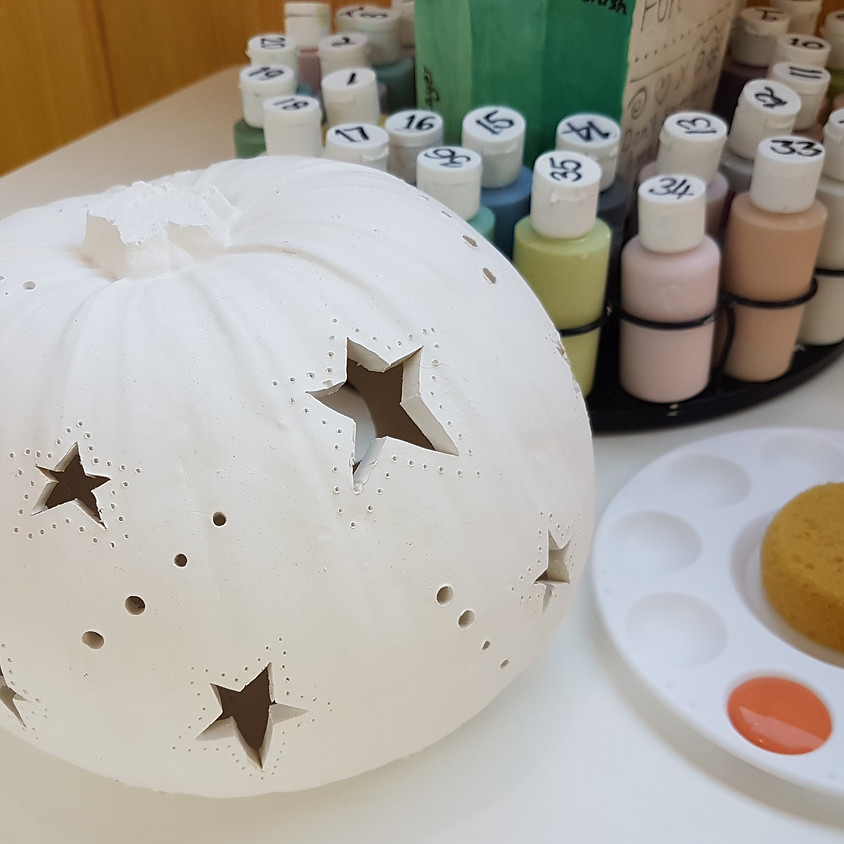 Family Clay Pumpkin Carving - Sat 28th Sept 2019