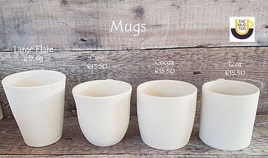 Takeaway Pottery - Mugs - Large Flare Ca