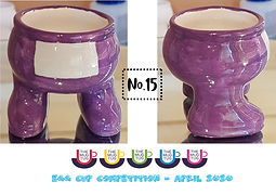 Number 15 - Egg Cup Competition - The Mu