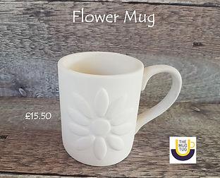 Takeaway Pottery - Mugs - Flower - June