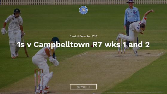 Photos added - R7 1s v Campbelltown