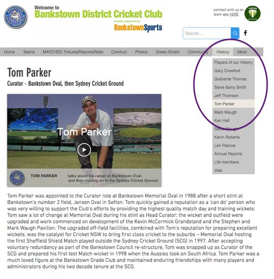 Sydney Test - Tom Parker interview