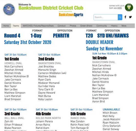 ALL Grades back this weekend! PLUS T20 Double-header