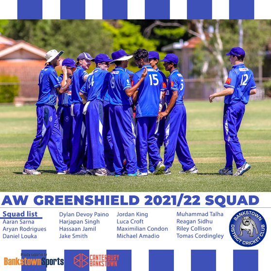 Green Shield squad announced
