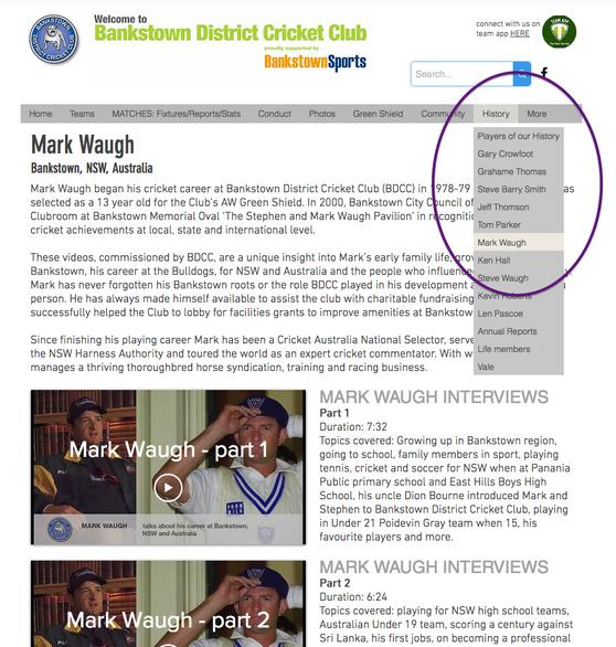 Mark Waugh interviews... great entertainment