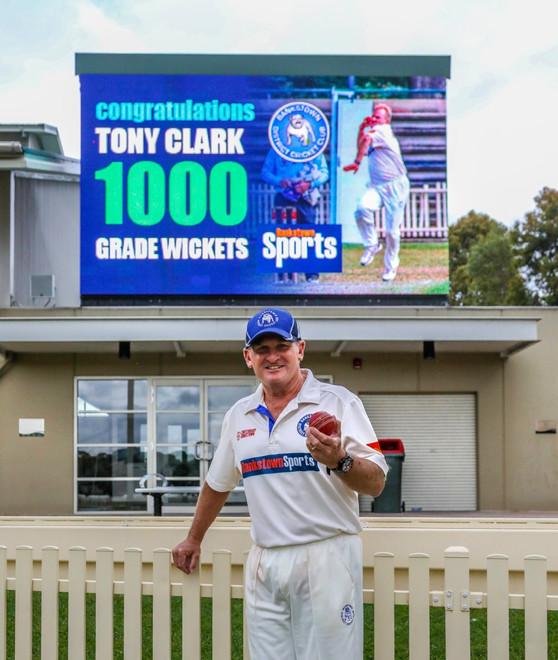 Clark's 1000th - a special milestone