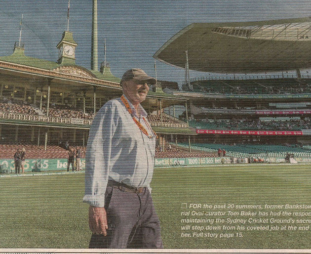 SCG (and former Bankstown Oval) curator steps down