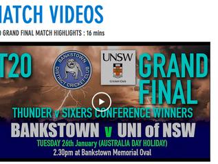 T20 Grand Final video highlights