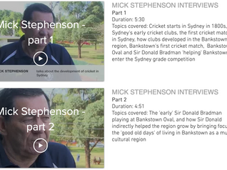 """""""Go the Doggies"""" - interviews with Mick Stephenson"""