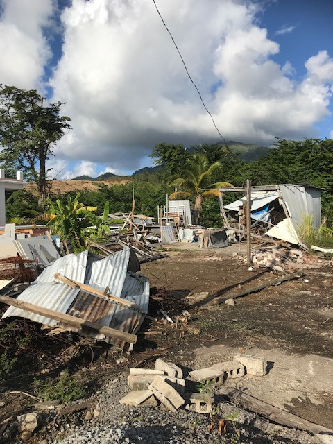 In the wake of Maria - Dominica