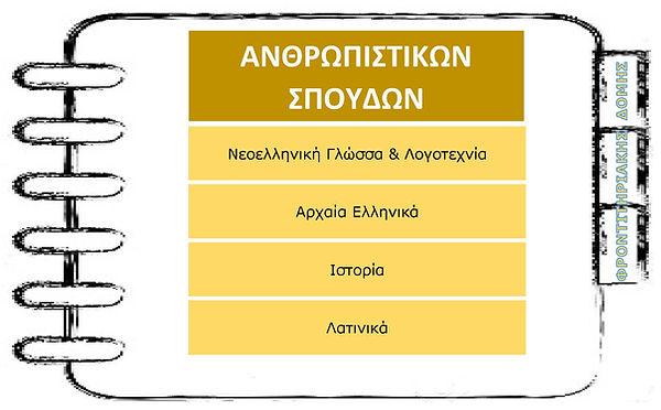ΠΡΟΓΡΑΜΜΑΤΑ ΘΕΡΙΝΩΝ Γ ΛΥΚΕΙΟΥ (ΑΝΘΡΩΠΙΣΤ