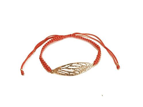 Silver Dragonfly bracelet