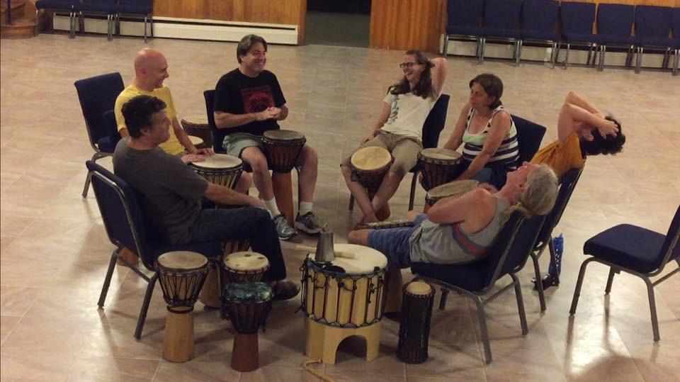 Matthew's Community Drumming