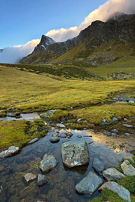 Ordino mountains Andorra