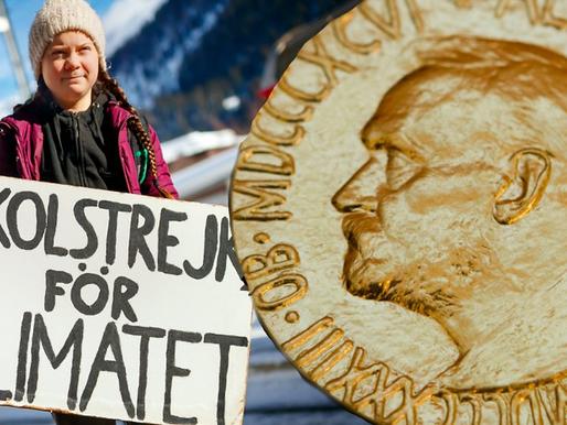 We Congradulate Greta Thunberg