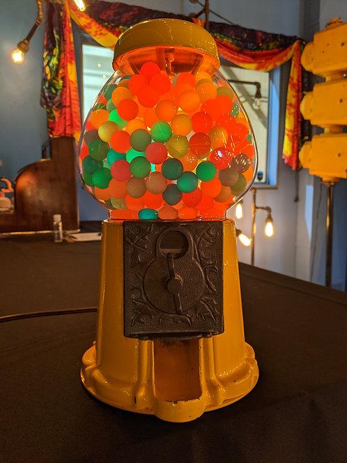 LARGE GUMBALL MACHINE LAMP