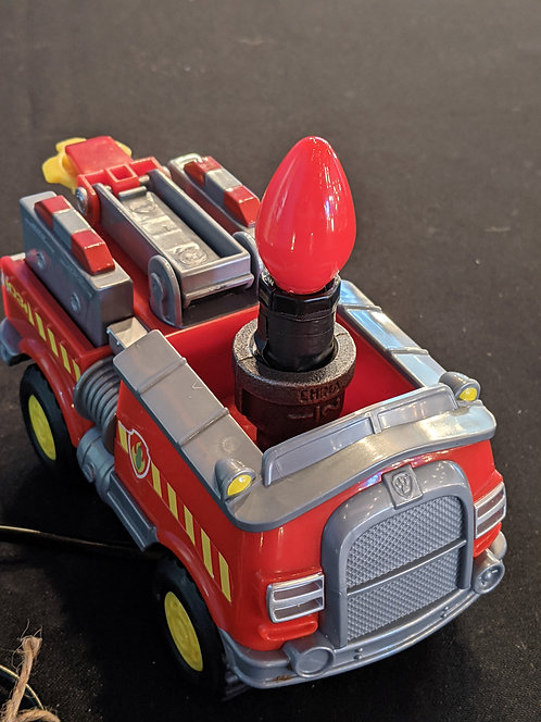 Fire Truck Night Light w/ red bulb