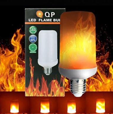 LED Flame Bulb - LED Flickering Flame Light,E26 1300K