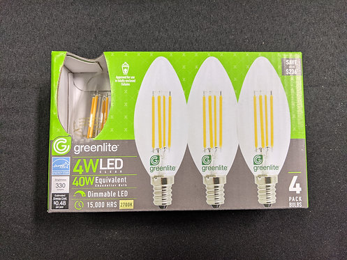 LED Candelabra/CHANDELIER E12 Base light bulb