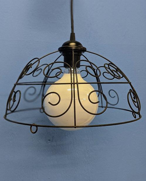 UP-CYCLED Basket light - HARDWIRED PENDANT