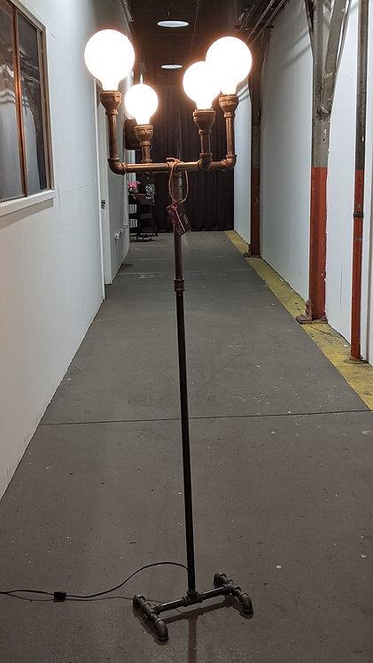 4 LIGHT CANDELABRA STYLE FLOOR LAMP