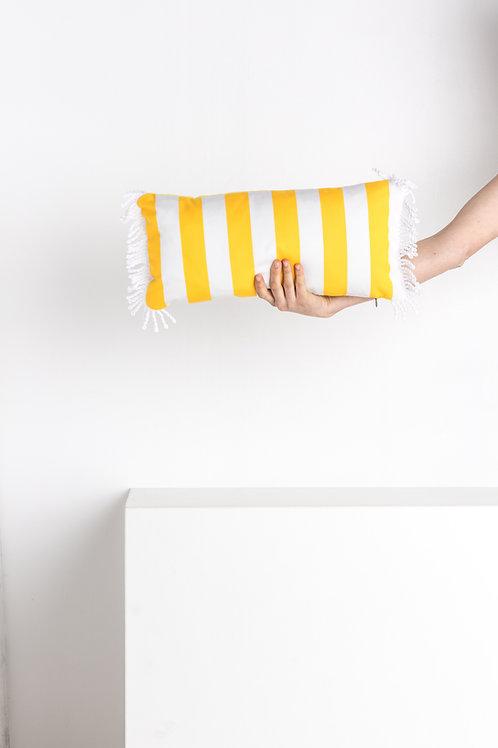 ROMY Rayé jaune or 45*45cm