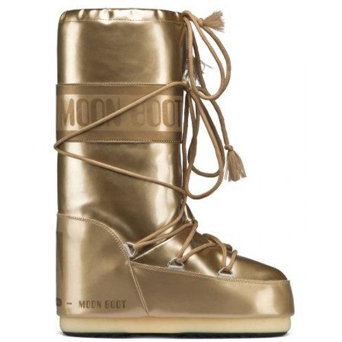 MOON BOOTS VINILE MET GOLD