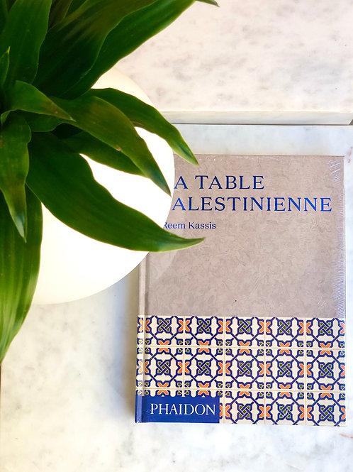 LIVRE LA TABLE PALESTINIENNE