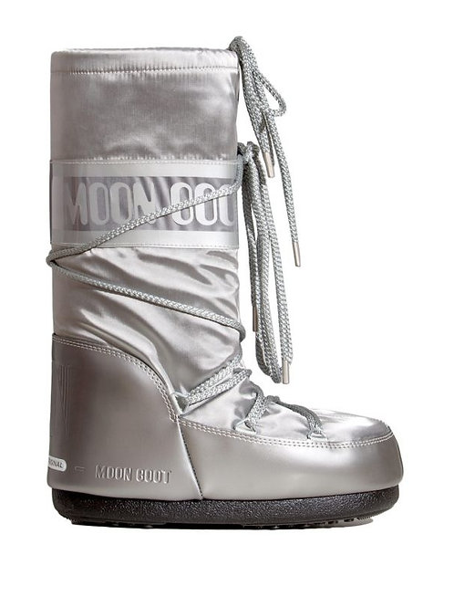 MOON BOOTS GLANCE SILVER