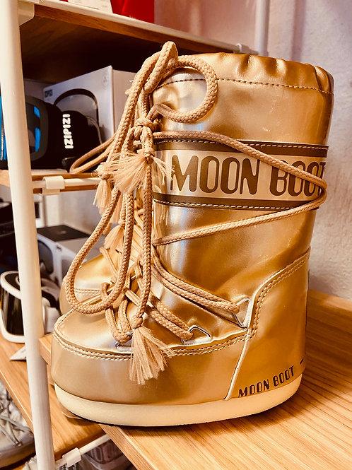 MOON BOOTS KIDS VINILE MET GOLD