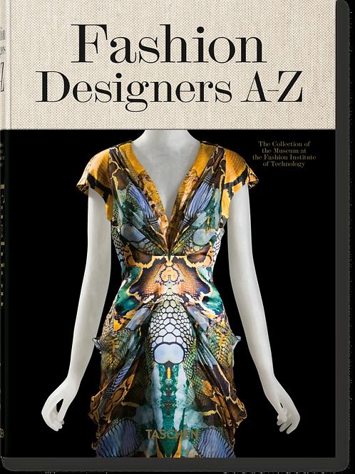 LIVRE FASHION DESIGNERS A-Z - TASCHEN