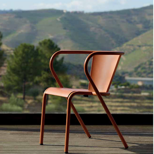 CHAISE OUTDOOR COLOREE