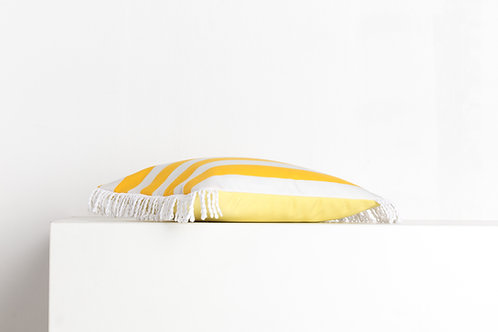 ROMY Jaune citron & rayé jaune 50*80cm