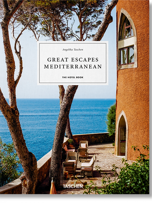 LIVRE GREAT ESCAPES MEDITERRANEAN - TASCHEN